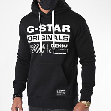 G-Star - Sweat Capuche Originals D18601-A971 Noir