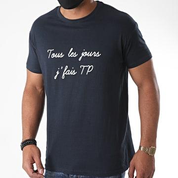 La Franc-Manesserie - Tee Shirt TP Bleu Marine