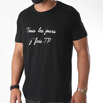 La Franc-Manesserie - Tee Shirt TP Noir