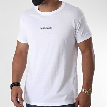 La Franc-Manesserie - Tee Shirt Soso Maness Blanc