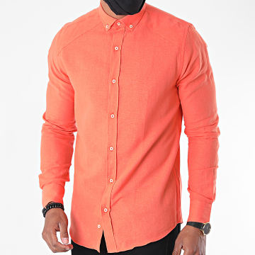 Classic Series - Chemise Manches Longues 2091 Orange