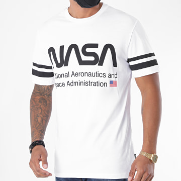 Only And Sons - Tee Shirt NASA Blanc
