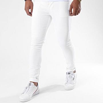 Zayne Paris  - Jean Slim ZA62 Blanc