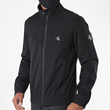 Calvin Klein - Veste Zippée Zip Up Harrington 5672 Noir