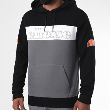 Ellesse - Sweat Capuche Thierry SXG10685 Gris Noir