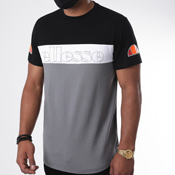 Ellesse - Tee Shirt SXG10687 Gris Noir