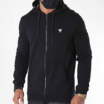 Guess - Sweat Zippé Capuche M0YQ52-K7ON0 Noir