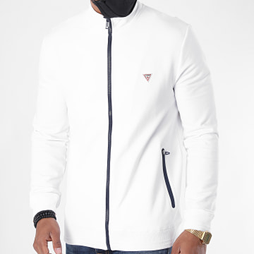 Guess - Veste Zippée M0YQ80-K7ON0 Blanc
