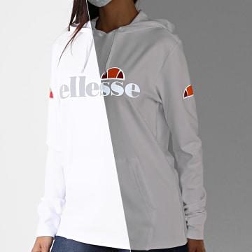 Ellesse - Sweat Capuche Femme Morcio SRG09926 Blanc