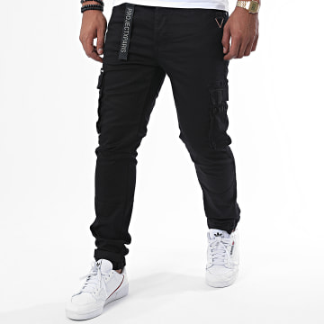 Project X - Pantalon Cargo 1990006 Noir