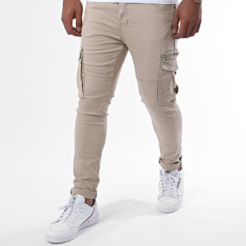 Project X - Jean Slim 2090022 Beige