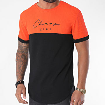 Uniplay - Tee Shirt Oversize UY510 Orange Noir