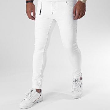 Uniplay - Jean Skinny 360 Blanc