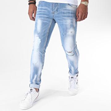 Uniplay - Jean Skinny 351 Bleu Denim