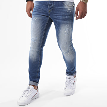 Uniplay - Jean Skinny 350 Bleu Denim