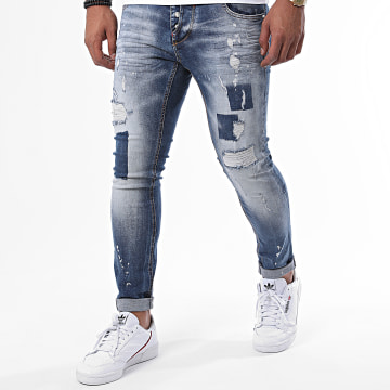 Uniplay - Jean Skinny 341 Bleu Denim