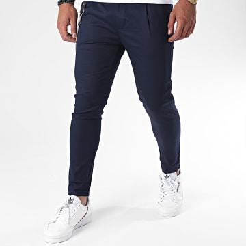 Uniplay - Pantalon Chino PU903 Bleu Marine
