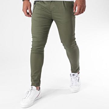 Uniplay - Pantalon Chino PU903 Vert Kaki