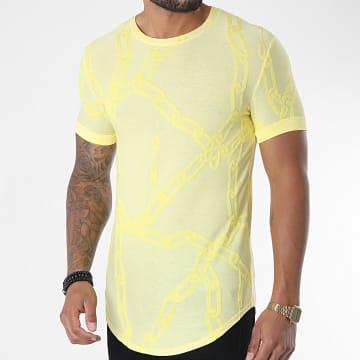 Uniplay - Tee Shirt Oversize UY507 Jaune