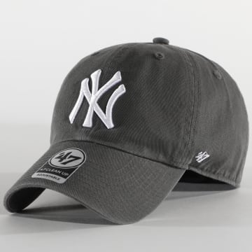 '47 Brand - Casquette New York Yankees Clean Up B-RGW17GWS Gris