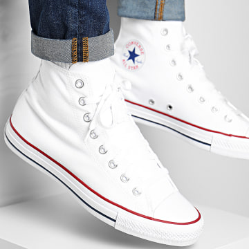 Converse - Baskets Chuck Taylor All Star Classic High Top M7650 Optical White