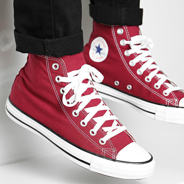 Converse - Baskets Chuck Taylor All Star Classic High Top M9613 Bordeaux