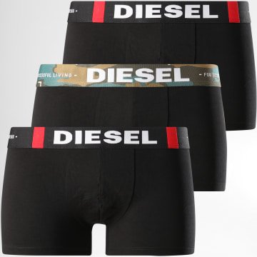 Diesel - Lot De 3 Boxers Damien 00ST3V-0DBAG Noir