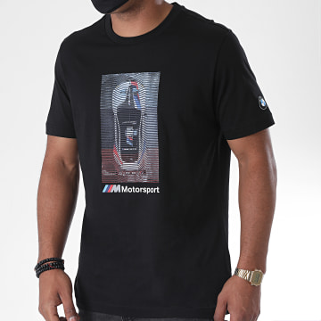 Puma - Tee Shirt BMW Motorsport Graphic 598007 Noir