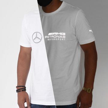 Puma - Tee Shirt Réfléchissant Mercedes AMG Petronas Motorsport Logo 598042 Blanc