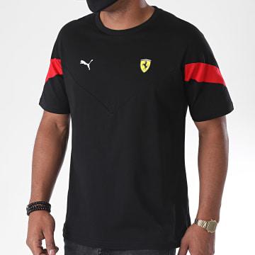 Puma - Tee Shirt Scuderia Ferrari Race 598596 Noir Rouge