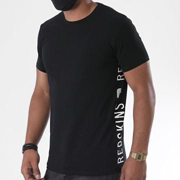 Redskins - Tee Shirt A Bandes Dareck Calder Noir