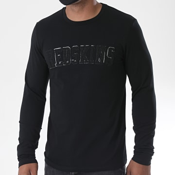 Redskins - Tee Shirt Manches Longues Brack Calder Noir