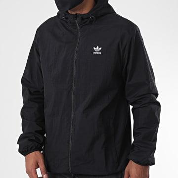 Adidas Originals - Veste Zippée Capuche Essential GD2553 Noir