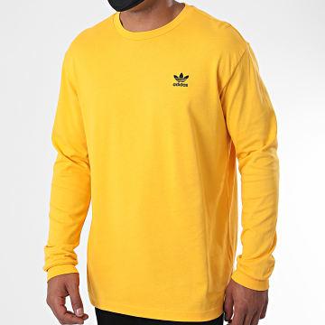 Adidas Originals - Tee Shirt Manches Longues GE0862 Jaune