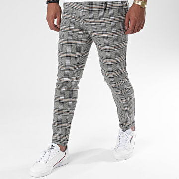 Classic Series - Pantalon Chino A Carreaux A20Y2358 Beige