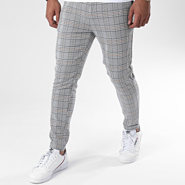 Classic Series - Pantalon Chino A Carreaux A20Y2358 Gris