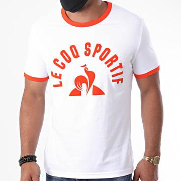 Le Coq Sportif - Tee Shirt Essential N3 2011329 Ecru