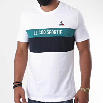 Le Coq Sportif - Tee Shirt Saison N2 2020510 Ecru