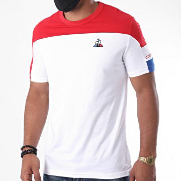 Le Coq Sportif - Tee Shirt Tricolore N1 2020548 Beige Rouge