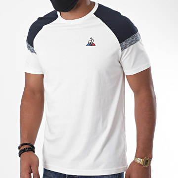 Le Coq Sportif - Tee Shirt Imprimé N2 2020867 Ecru