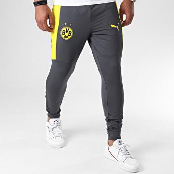 Puma - Pantalon Jogging BVB 09 Borussia Dortmund 757715 Gris Jaune