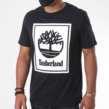 Timberland - Tee Shirt Stack Logo A2AJ1 Noir