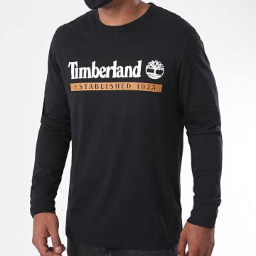 Timberland - Tee Shirt Manches Longues Estab 1973 A2AWK Noir