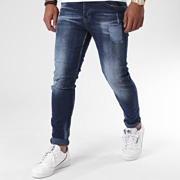 Zayne Paris  - Jean Slim ZA67 Bleu Denim