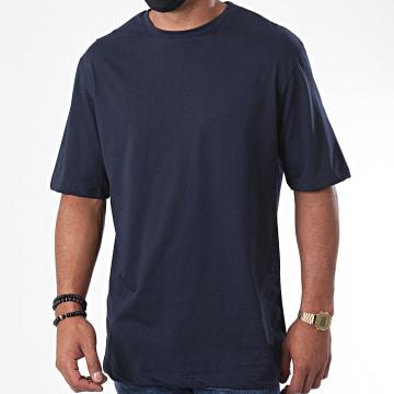 Aarhon - Tee Shirt Luigi Off Bleu Marine
