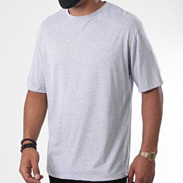 Aarhon - Tee Shirt Luigi Off Gris Chiné