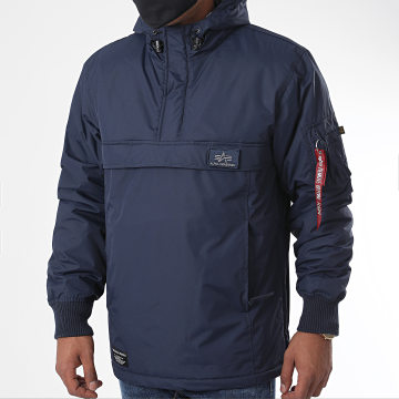Alpha Industries - Veste Outdoor Capuche WP 188132 Bleu Marine