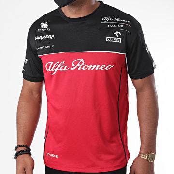Alfa Romeo Racing - Tee Shirt Race Technical ARRRTCTS17 Rouge Noir
