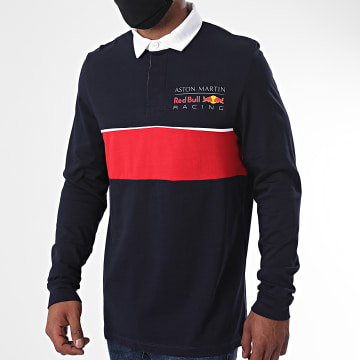 Red Bull Racing - Polo Manches Longues 170701007 Bleu Marine