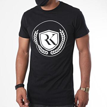 RK - Tee Shirt Logo Wings Noir